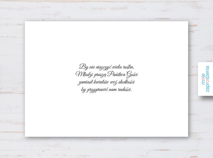 Fioletowe Wrzosy Zaproszenia I Zawiadomienia ślubne Moje Zaproszenia